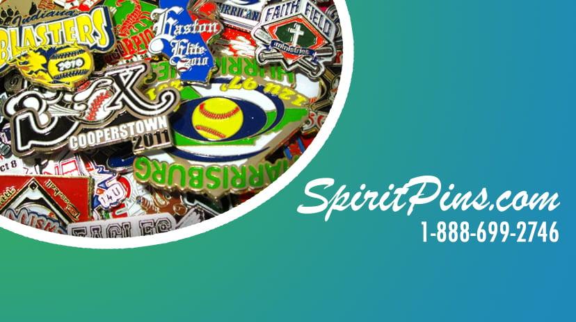 Custom Made Spirit Pins